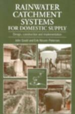 Rainwater Catchment Systems for Domestic Supply: Design, Construction-ExLibrary