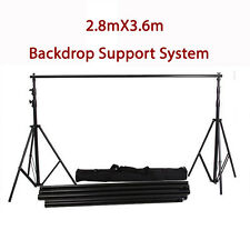 BDS03 3.6m* 2.8m Pro HeavyDuty Backdrop Support System Kit Tripod adjustable bag