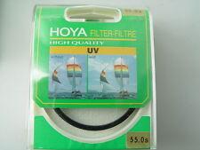 HOYA   FILTER UV für  55 mm   NEU- High Quality