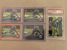 2011 Topps Chrome Calvin Johnson lot of 5 #8 colored refractors include 1 graded