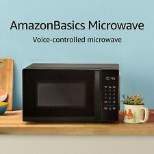 Basics Microwave, Small, 0.7 Cu. Ft, 700W, Funciona Con Alexa