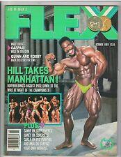 FLEX bodybuilding muscle magazine/PHIL HILL 10-88