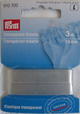 Transparent-Elastic, Prym 910 700, 3m/10mm