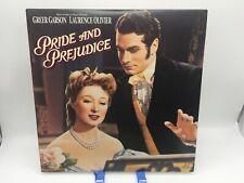 """""""Pride and Prejudice"""" MGM/UA Laserdisc LD - Laurence Olivier"""