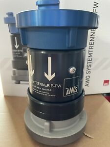 AWG B-FW  DN80 Systemtrenner Feuerwehr Trinkwasserschutz Storz B DIN 14346