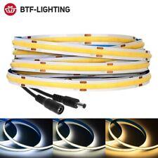 Fcob Tira de Luz LED 360 480 led flexible de alta densidad FOB chip-on-board regulador 12V 24V
