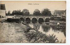 HUMES Haute Marne CPA 52 la mouche - riviere - pecheur