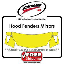 Kits for Volvo - 3M 846 Scotchgard Paint Protection Film - Hood Fender Tips Mirr