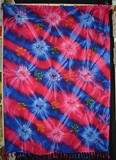 Sarong Tuch Strandtuch Pareo Wandbehang Batik weich Afrika GROß! 120x160 EW442