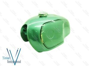 Fits For BMW R100 RT RS R90 R80 R75 Green Painted Steel Petrol Fuel Gas Tank @Vi