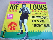 1969--1970 JOE LOUIS Super 8MM Home Movies in Sealed Box
