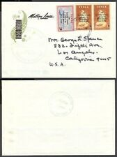 TONGA NIUAFO'OU TIN CAN MAIL COVER 1968 MATSON LINE COVER (ID:183/D29237)