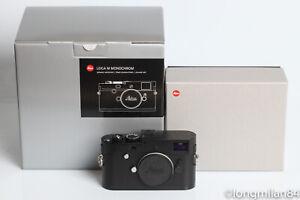 Leica M Monochrom Typ 246 Digital Rangefinder Camera Body BW Black Chrome 10930