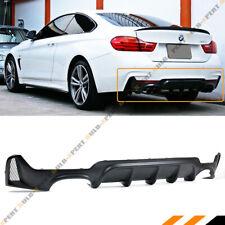 For 2014-19 BMW F32 F33 F36 4 Series MP Style Quad Exhaust Rear Bumper Diffuser