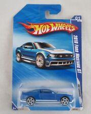 Hot Wheels 2010 Ford Mustang GT (Blue) #1 HW Garage '10