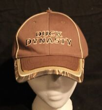 A&E TV's DUCK DYNASTY TAN & CAMO ADULT ONE SIZE NU-FIT CAP HAT NEW NEVER WORN