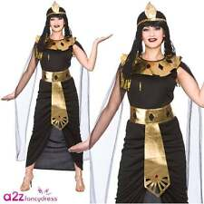 Charming Cleopatra Ladies Fancy Dress Costume Halloween M
