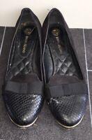 Womens Slip On Black Shoes 4 River Island <NZ1424z