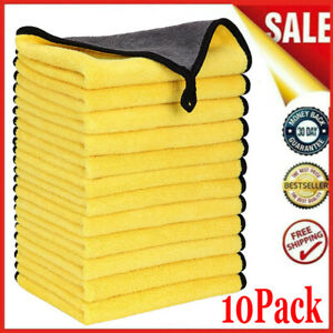 10X Large Super Absorbent Car Wash Microfiber Towel Cloth Car Cleaning Drying