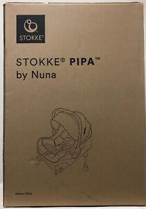 Stokke PIPA by Nuna Child Safety Infant Car Seat & Base Black NEW