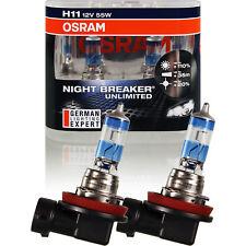 Osram Night Breaker UNLIMITED +110% H11 Halogen 12V 55W PGj19-2 WNV