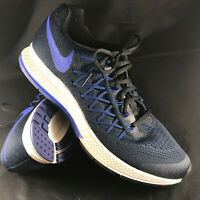 Nike Men's Air Zoom Pegasus 32 Running 10 US Color Black/Racer Blue/Royal Blue
