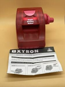 Xyron ELC Magic Sticker Maker *Machine Only* With Instructions