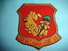 VIETNAM WAR PATCH, US NAVY DETACHMENT SUPPLY CAT LO