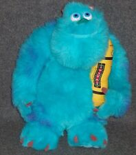 Disney Pixar MONSTERS INC SULLEY PLUSH w/ LIGHT UP SCREAM CANISTER Hasbro TOY