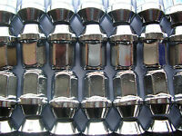 20 x Radmuttern Chrom M12x1,5 Kegelbund SW19 Ford Mazda Alufelgen Radmutter D6C