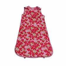 Pitter Patter Snuggle Bag (Pink Strawberry, 6-12 Months) 1 TOG - BRAND NEW