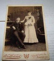VICTORIAN WEDDING CABINET PHOTO #19 MILWAUKEE WI