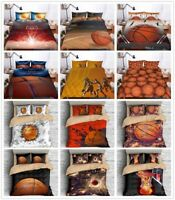 3D Basketball Sport Boy Bedding Set Duvet Cover Pillowcase Quilt/Comforter Cover