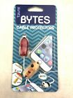 Bytes Cable Protectors 6075 Tzumi Pack of 2 Kitty Cat Dog Silicone Universal