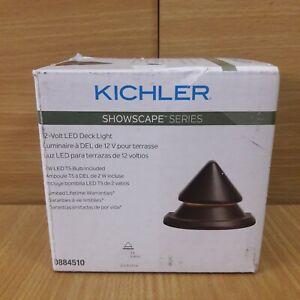 KICHLER SHOWSCAPE 12V LED T5 300 Degree Beam PATH DECK LIGHT 12v # 0884510