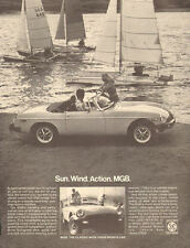 1978 classic British Sports car AD,  MGB  by Sailboats British Leland 061117