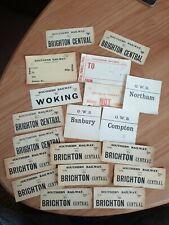 More details for southern railway sr, gwr, luggage labels bundle rare joblot