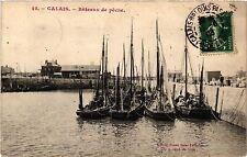 CPA CALAIS Bateaux de Peche (406019)