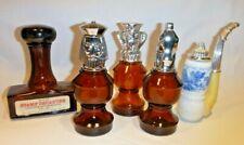 Vintage Avon Men Collectible Decanters Lot of 5 Bottles Empty