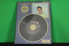 Elvis Presley Are You Lonesome Tonight 45 RPM Limited Collectors Edition Display