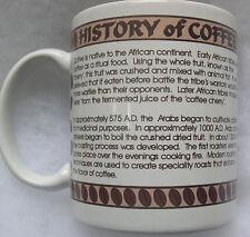 History of Coffee Coffee Cup Mug (1995)