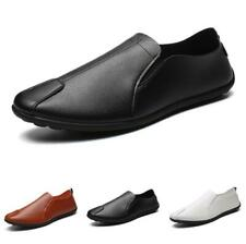 Mens Driving Moccasins Shoes Slip on Loafers Flats Pumps Breathable Soft Comfy