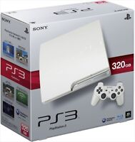 SONY PS3 PlayStation 3 320GB White CECH-2500BLW Game console