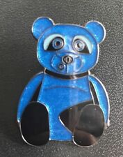 NIP Coach NY Ace Pin Blue Coach Bear Handbag Accessory Adorable