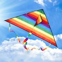 Large delta kite for kids and adults single line easy to fly,kite handle funny