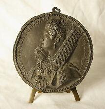 Medaille Marie Madelaine von Österreich magdalenae Erzherzogin 1613 fc Dupré