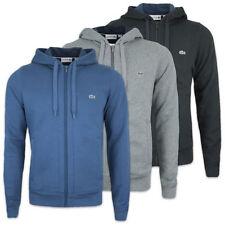 Lacoste Hooded Plain Regular Hoodies & Sweats for Men