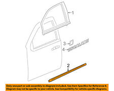Cadillac GM OEM 07-14 Escalade FRONT DOOR-Body Side Molding Right 15876406