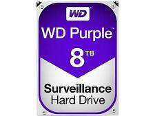 Western Digital 8TB PURPLE Surveillance Hard Drive SATA 6 Gbs 128MB WD80PUZX WD