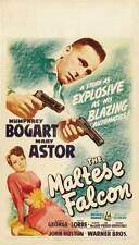 THE MALTESE FALCON Movie POSTER 20x40 Humphrey Bogart Mary Astor Peter Lorre